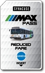 SYRACUSE MAX PASS REDUCED FARE